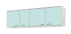 サンウェーブ GPL2A-165 セクショナルキッチン GP2シリーズ 吊戸棚(高さ50cm) 間口165cm リリーホワイト [♪凹]