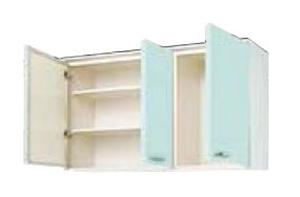 サンウェーブ GPL2AM-120 セクショナルキッチン GP2シリーズ 吊戸棚(高さ70cm) 間口120cm リリーホワイト [♪凹]