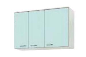 サンウェーブ GPL2AM-105 セクショナルキッチン GP2シリーズ 吊戸棚(高さ70cm) 間口105cm リリーホワイト [♪凹]