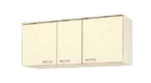 サンウェーブ HRH2A-120 セクショナルキッチン HR2シリーズ 吊戸棚(高さ50cm) 間口120cm シェルグレー [♪凹]