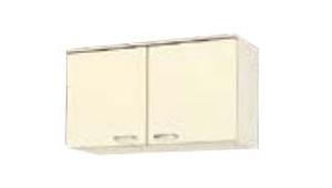 サンウェーブ HRI2A-90T セクショナルキッチン HR2シリーズ 吊戸棚(高さ50cm) 間口90cm アイボリー [♪凹]