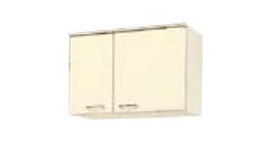 サンウェーブ HRH2A-75 セクショナルキッチン HR2シリーズ 吊戸棚(高さ50cm) 間口75cm シェルグレー [♪凹]