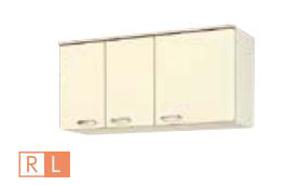 サンウェーブ HRI2A-120F(R・L) セクショナルキッチン HR2シリーズ 吊戸棚(高さ50cm) 不燃仕様吊戸棚 間口120cm アイボリー [♪凹]