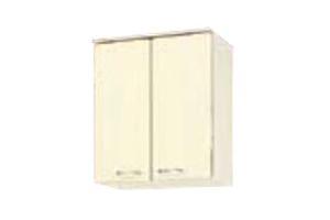 サンウェーブ HRH2AM-60 セクショナルキッチン HR2シリーズ 吊戸棚(高さ70cm) 間口60cm シェルグレー [♪凹]