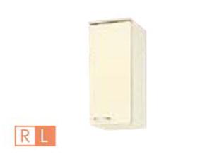 サンウェーブ HRH2AM-30F(R・L) セクショナルキッチン HR2シリーズ 吊戸棚(高さ70cm) 不燃仕様吊戸棚 間口30cm シェルグレー [♪凹]