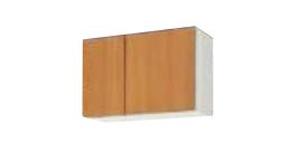 サンウェーブ GSE-A-75 セクショナルキッチン GSシリーズ 吊戸棚(高さ50cm) 間口75cm ライトグレー [♪凹]