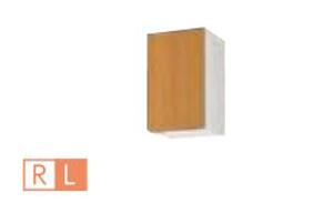 サンウェーブ GSE-A-30F(R・L) セクショナルキッチン GSシリーズ 吊戸棚(高さ50cm) 不燃仕様吊戸棚 間口30cm ライトグレー [♪凹]