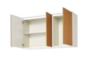 サンウェーブ GSE-AM-120Z セクショナルキッチン GSシリーズ 吊戸棚(高さ70cm) 間口120cm ライトグレー [♪凹]