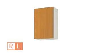 サンウェーブ GSE-AM-45ZF(R・L) セクショナルキッチン GSシリーズ 吊戸棚(高さ70cm) 不燃仕様吊戸棚 間口45cm ライトグレー [♪凹]