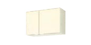 サンウェーブ GKF-A-75 セクショナルキッチン GKシリーズ 吊戸棚(高さ50cm) 間口75cm アイボリー [♪凹]