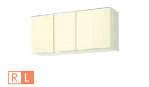サンウェーブ GKW-A-110F(R・L) セクショナルキッチン GKシリーズ 吊戸棚(高さ50cm) 不燃仕様吊戸棚 間口110cm ライトオーク [♪凹]