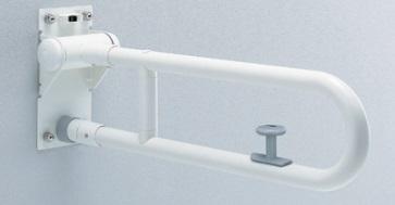 【最大44倍お買い物マラソン】トイレ用手すり TOTO T112HK7R 腰掛便器用 可動式 はね上げタイプ ロック付き 長さ:700mm [■]
