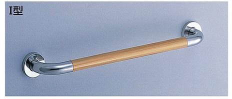 【最安値挑戦中!最大23倍】トイレ用手すり TOTO T114C6 多用途用 I型 長さ:600mm [■]