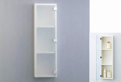 【最安値挑戦中!最大25倍】トイレ関連 TOTO YSL50G 収納キャビネット すりガラス調扉 [■]