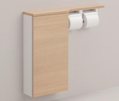【最安値挑戦中!最大25倍】トイレ関連 TOTO UYC05S フロア収納キャビネット ワイドタイプ(680mm定寸) 埋込タイプ [■]