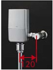 【最安値挑戦中!最大34倍】TOTO TEVN10E 大便器便器自動洗浄システム オートクリーンC(露出タイプ) 壁給水 標準品 [■]