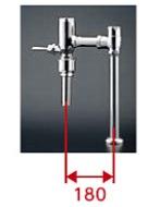 【最安値挑戦中!最大24倍】TOTO TV585CP 節水形フラッシュバルブ CS494系専用 低水圧用 床給水 水道水対応[■]