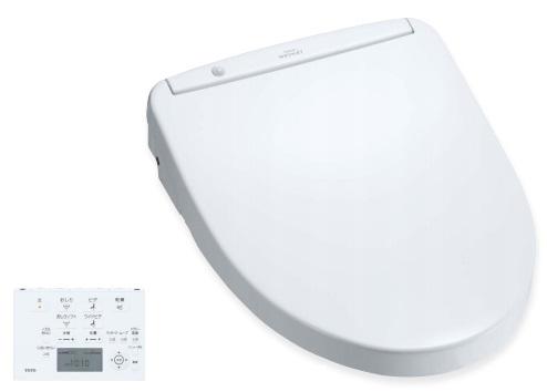 【最安値挑戦中!最大25倍】TOTO TCF4723AKR#NW1 (TCF4723R+TCA320) ウォシュレット 便座 温水洗浄便座 ウォシュレットアプリコット F2A 4.8L洗浄便器用 (ピュアレストEX・QR・MR・CS597系) ホワイト [?]