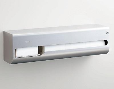 【最安値挑戦中!最大24倍】紙巻器 INAX KF-67T4R 横4連ストック付(右仕様) [□]