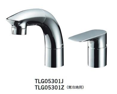 【最安値挑戦中!最大25倍】TOTO 水栓金具 TLG05301Z 洗面用シャワー水栓 寒冷地用[■]