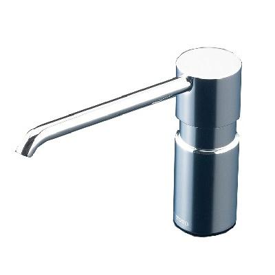 【最安値挑戦中!最大25倍】TOTO 水栓金具 TLK05203J 水石けん供給栓(手動) カウンター用 スパウト高さ 112mm[■]