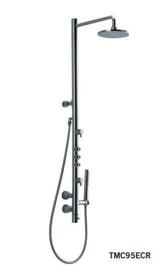 【最安値挑戦中!最大25倍】水栓金具 TOTO TMC95ECR コンテンポラリシリーズ 浴室 エアインシャワーバー [■]