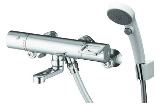 【最安値挑戦中!最大34倍】水栓金具 TOTO TMGG40SEWZ 浴室 GGシリーズ サーモスタットシャワー金具 (壁付きタイプ) エアインクリック 寒冷地用 [■]