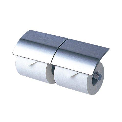 【最安値挑戦中!最大24倍】トイレ関連 TOTO YH63R 二連紙巻器 メタル系 めっきタイプ 芯棒固定 [■]
