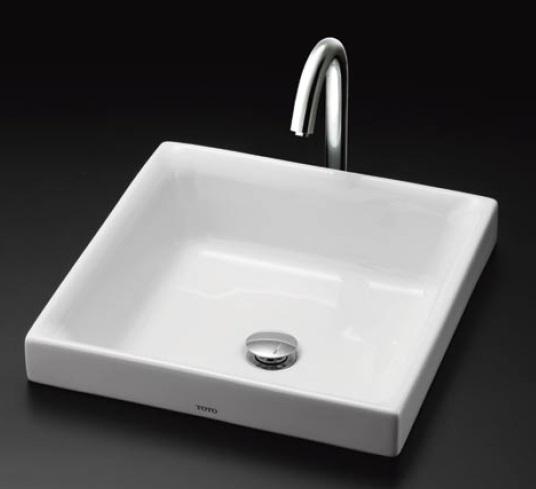 【最安値挑戦中!最大24倍】洗面器 TOTO LS715 ベッセル式洗面器のみ カウンター式洗面器 ベッセル式[♪■]