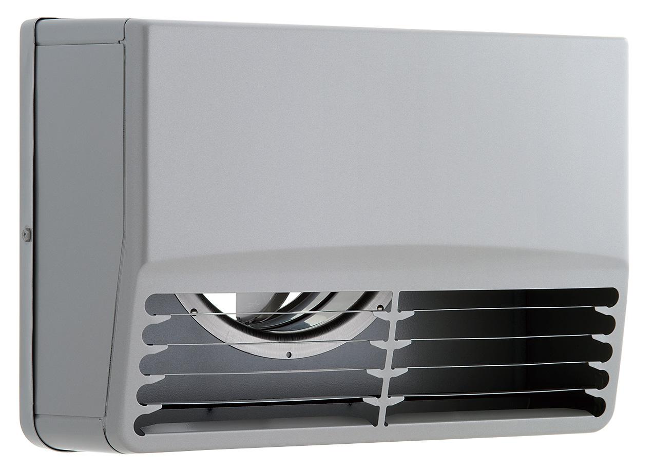 【最安値挑戦中!最大25倍】換気扇 ユニックス SBCG100ADSP ステンレス製 グリル 外風対策 防火ダンパー 角型カバー 横ガラリ 72℃型式 [♪■]