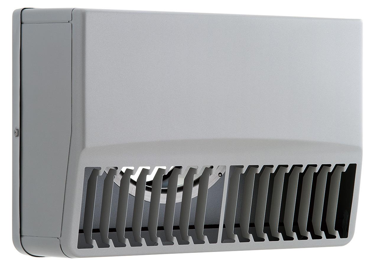【最安値挑戦中!最大25倍】換気扇 ユニックス SBCG125AR3M ステンレス製 グリル 外風対策 角型カバー 縦ガラリ右吹き 3メッシュ [♪■]