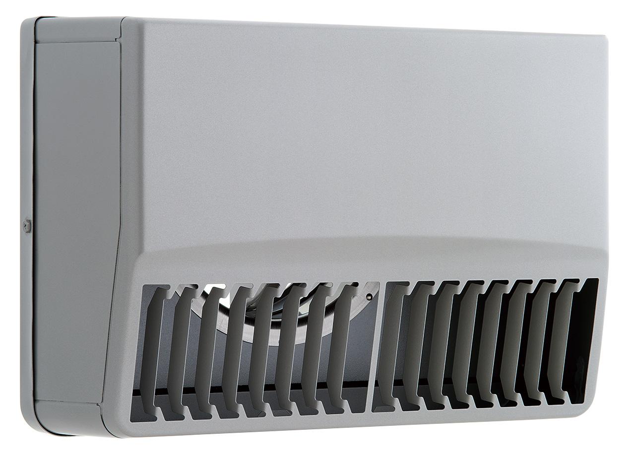 【最大44倍スーパーセール】換気扇 ユニックス SBCG125ARDSP ステンレス製 グリル 外風対策 防火ダンパー 角型カバー 縦ガラリ右吹き 72℃型式 [♪■]