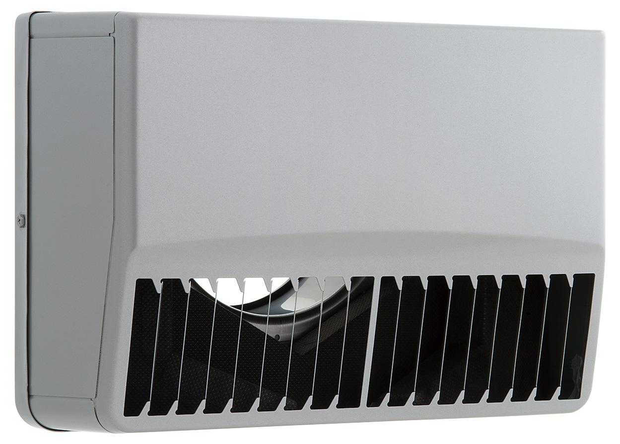 【最安値挑戦中!最大25倍】換気扇 ユニックス SSCG125BL5M ステンレス製 グリル 外風対策(防音) 角型防音カバー 縦ガラリ左吹き 5メッシュ [♪■]