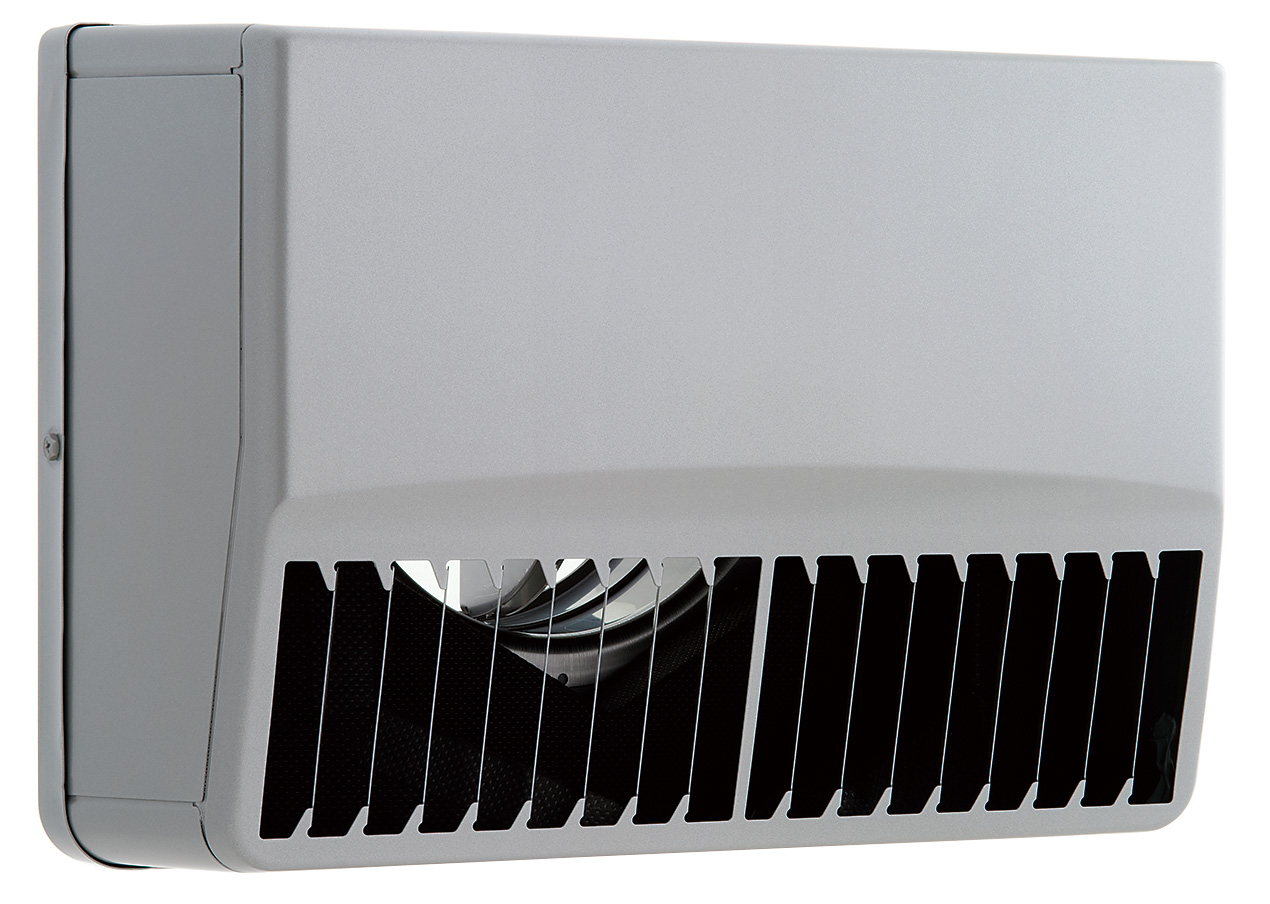 【最安値挑戦中!最大25倍】換気扇 ユニックス SSCG150BLDSP ステンレス製 グリル 外風対策(防音) 防火ダンパー 角型防音カバー 縦ガラリ左吹き 72℃型式 [♪■]