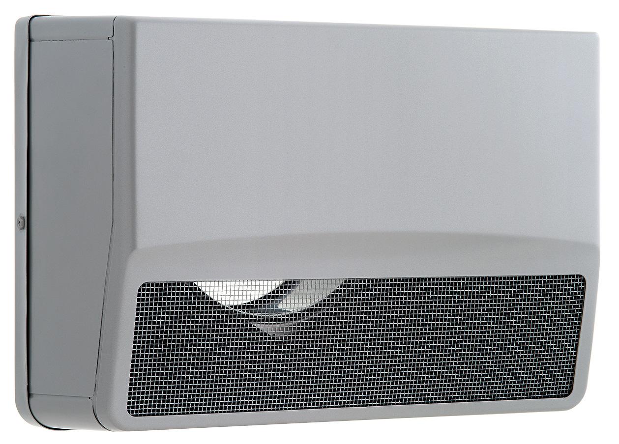 【最安値挑戦中!最大25倍】換気扇 ユニックス SSCW100B5M ステンレス製 グリル 外風対策(防音) 角型防音カバー 5メッシュ [♪■]