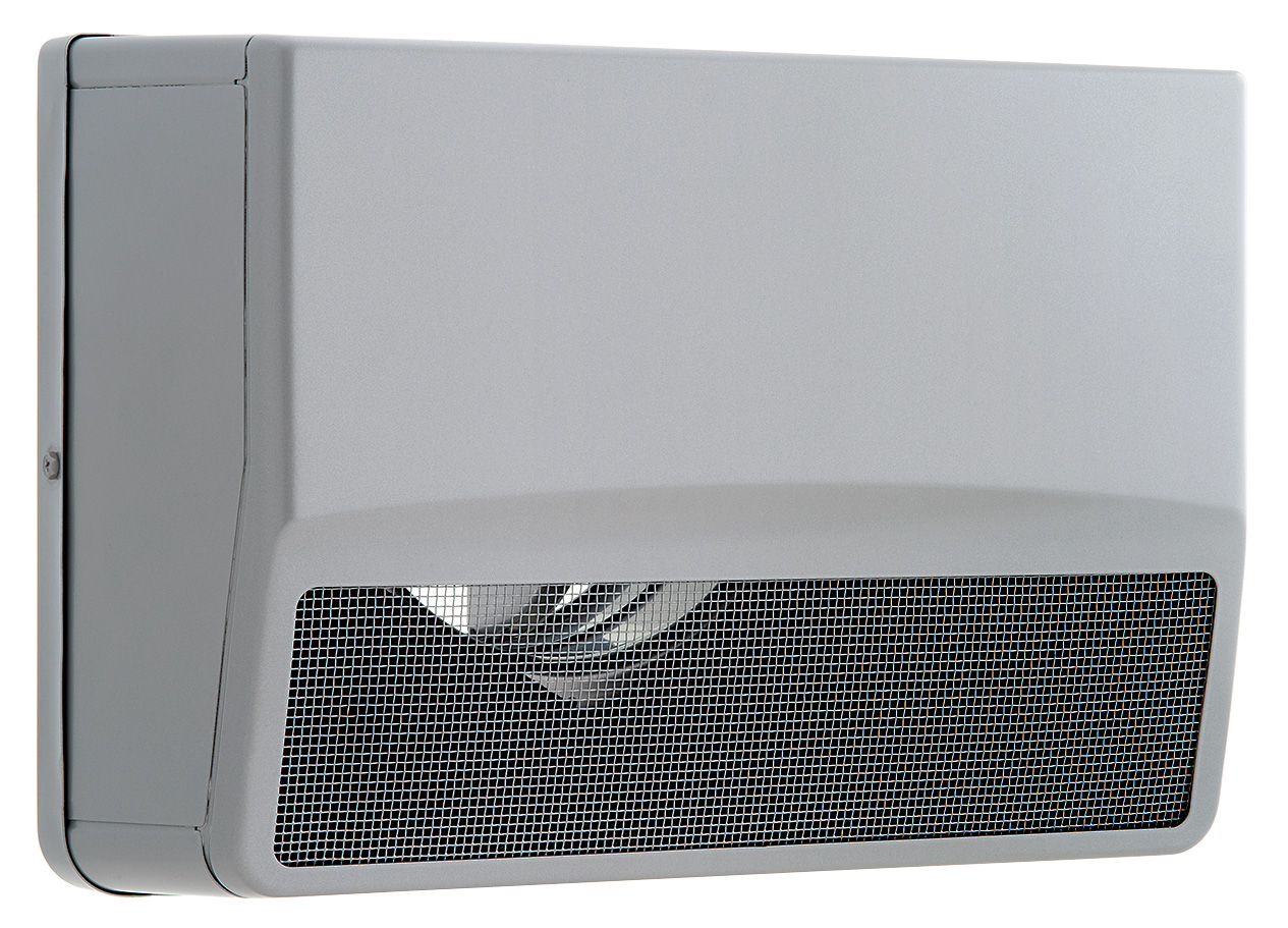 【最安値挑戦中!最大25倍】換気扇 ユニックス SSCW125B10MDSP ステンレス製 グリル 外風対策(防音) 防火ダンパー 角型防音カバー 72℃型式 10メッシュ [♪■]