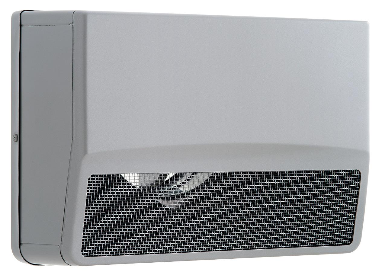【最安値挑戦中!最大25倍】換気扇 ユニックス SSCW125B5MDSQ ステンレス製 グリル 外風対策(防音) 防火ダンパー 角型防音カバー 120℃型式 5メッシュ [♪■]