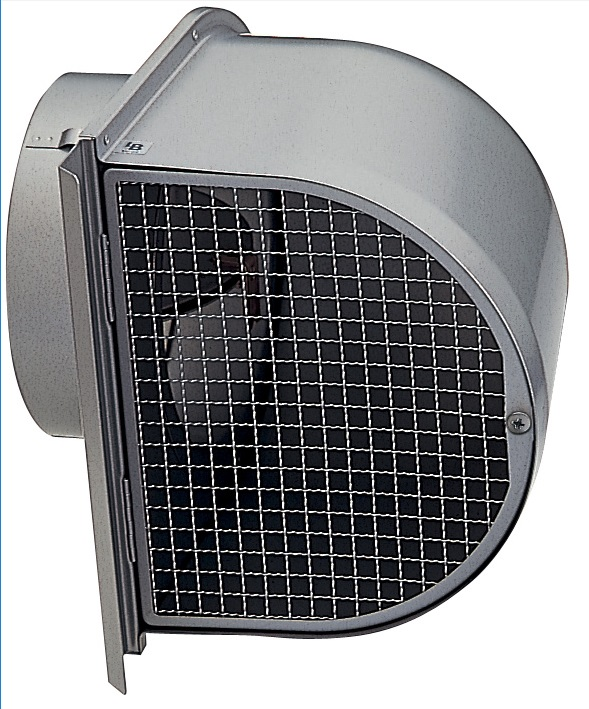 【最安値挑戦中!最大25倍】換気扇 ユニックス FSW200F5MDSPBL 深型フード メッシュ 防火ダンパー付 72℃型式 5メッシュ [♪■]