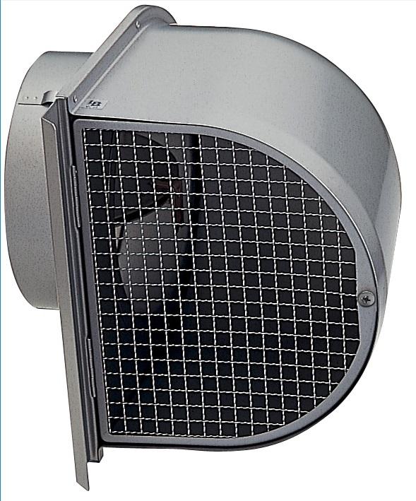 【最安値挑戦中!最大25倍】換気扇 ユニックス FSW200F5MDSQBL 深型フード メッシュ 防火ダンパー付 120℃型式 5メッシュ [♪■]