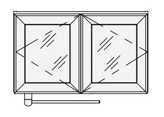 【最大44倍スーパーセール】クリナップ 洗濯機用ミドルキャビネット SRM75S S(エス) 間口75cm シースルー扉 奥行27cm 高さ45cm [♪△]
