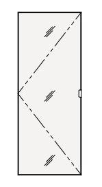 【最安値挑戦中!最大25倍】クリナップ トールキャビネット(上台) SRTU45M S(エス) 間口45cm ミラータイプ(R・L) 奥行55cm 高さ112.5cm [♪△]