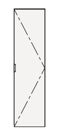 【最安値挑戦中!最大25倍】クリナップ トールキャビネット(上台) SRTU30 S(エス) 間口30cm 扉タイプ(R・L) ハイグレード 奥行55cm 高さ112.5cm [♪△]
