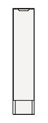 【最安値挑戦中!最大34倍】クリナップ トールキャビネット(下台) SRTFH15KN S(エス) 間口15cm 片面引出しタイプ(R・L) ハイグレード 奥行55cm 高さ82.5cm [♪△]