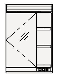 【coordiroom】クリナップ ミラーキャビネット M-601NFNK FANCIO(ファンシオ) 間口60cm 1面鏡 蛍光灯 奥行17cm 高さ90cm [♪△]