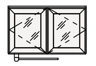 【最大44倍スーパーセール】クリナップ 洗濯機用ミドルキャビネット NFM75S FANCIO(ファンシオ) 間口75cm シースルー 奥行27cm 高さ45cm [♪△]