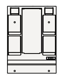 【最安値挑戦中!最大25倍】クリナップ ミラーキャビネット M-H751GAKH BGAシリーズ 間口75cm 1面鏡 蛍光ランプ 奥行7cm 高さ102.5cm [♪▲]