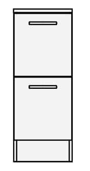 【coordiroom】クリナップ サイドキャビネット(下台) GASFL30BH BGAシリーズ 間口30cm 引出しタイプ ハイグレード 奥行47cm 高さ77.8cm [♪▲]