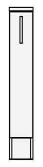 【最安値挑戦中!最大25倍】クリナップ サイドキャビネット(下台) GASFL15KN BGAシリーズ 間口15cm 片面引出しタイプ(R・L) ハイグレード 奥行47cm 高さ77.8cm [♪▲]