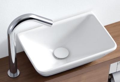 【最安値挑戦中!最大25倍】TOTO 手洗器 L724 カウンター式手洗器 ベッセル式(手洗器のみ)[♪■]