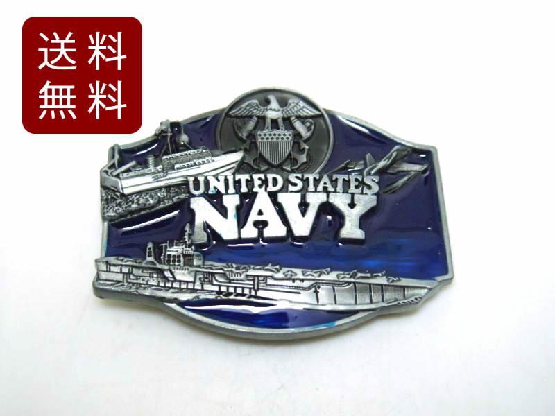 アメリカン US NAVY バックルのみ ベルト無し 高品質 1着でも送料無料